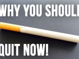Reasons why you should stop smoking