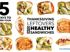 5 Healthier Thanksgiving Leftover Sandwiches [Infographic]